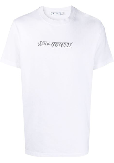 T-shirt bianca OFF WHITE   OMAA027R21JER0110131