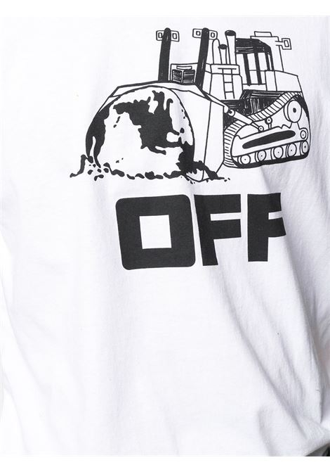 T-shirt bianca OFF WHITE   OMAA027R21JER0130110