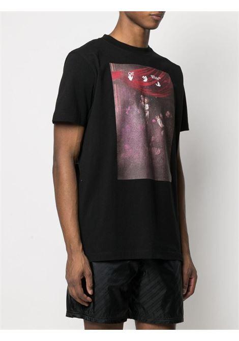 Black t-shirt OFF WHITE | T-SHIRT | OMAA027S21JER0101001