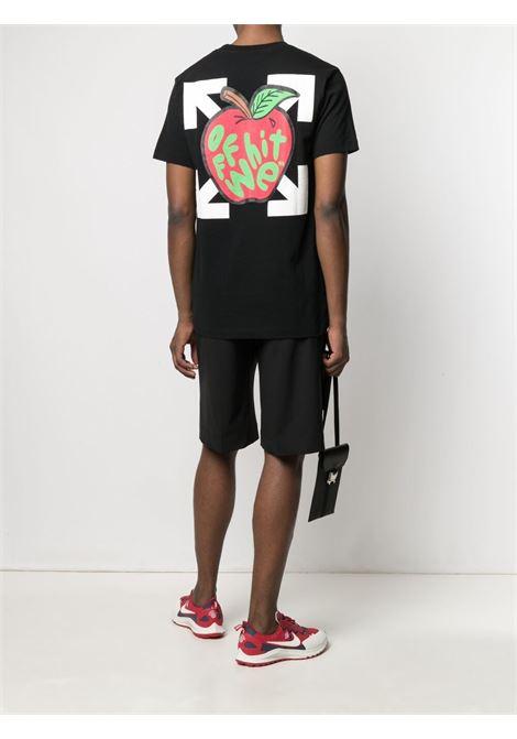Black t-shirt OFF WHITE | T-SHIRT | OMAA027S21JER0231025