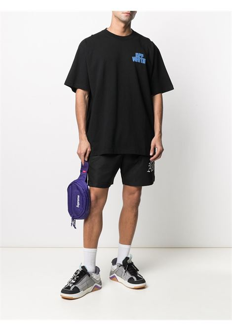 T-shirt nera OFF WHITE | T-SHIRT | OMAA038R21JER0041040