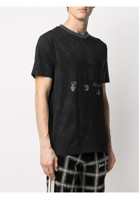 T-shirt nera OFF WHITE | T-SHIRT | OMAA038R21JER0141009