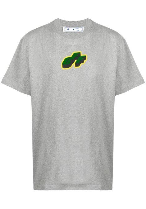 Grey t-shirt OFF WHITE | T-SHIRT | OMAA038S21JER0110855