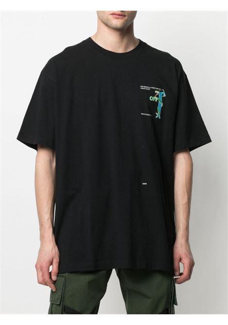 Black t-shirt OFF WHITE | T-SHIRT | OMAA038S21JER0141001