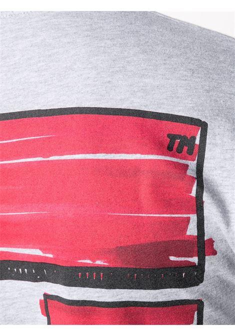 T-shirt grigia OFF WHITE | T-SHIRT | OMAB001R21JER0030825
