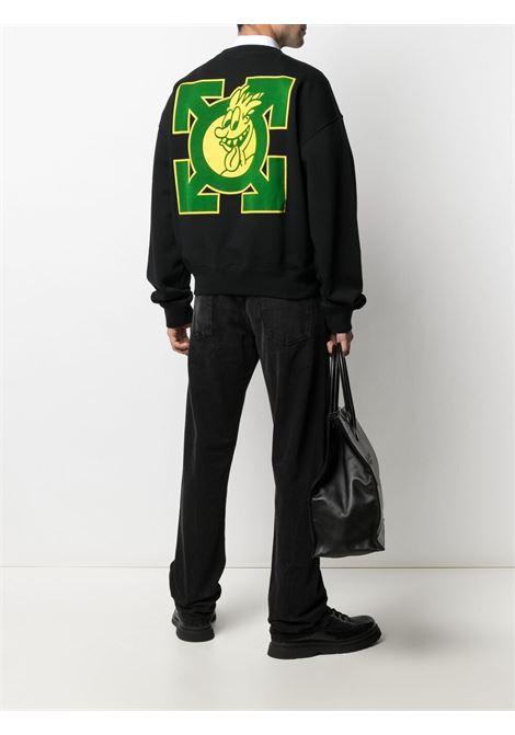 Black sweatshirt OFF WHITE | SWEATSHIRTS | OMBA035S21FLE0021055