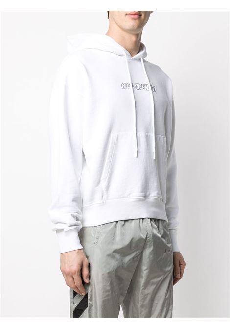 Felpa bianca OFF WHITE | FELPE | OMBB037R21FLE0070131