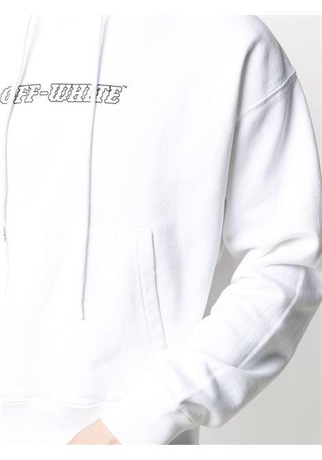 Felpa bianca OFF WHITE   FELPE   OMBB037R21FLE0070131