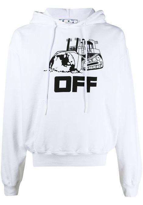 Felpa bianca OFF WHITE   FELPE   OMBB037R21FLE0090110