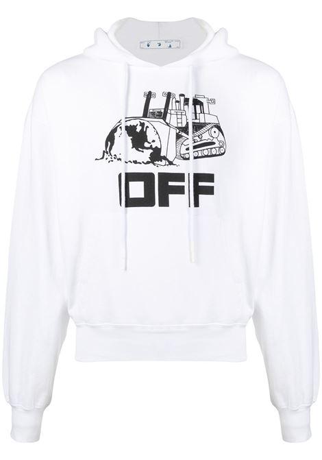 Felpa bianca OFF WHITE | FELPE | OMBB037R21FLE0090110