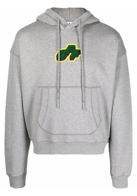 Grey sweatshirt OFF WHITE | SWEATSHIRTS | OMBB073S21FLE0030855