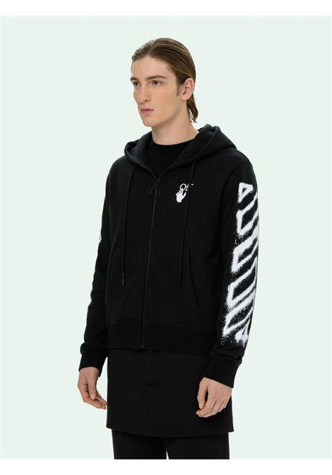 Black sweatshirt OFF WHITE | SWEATSHIRTS | OMBE001S21FLE0021001