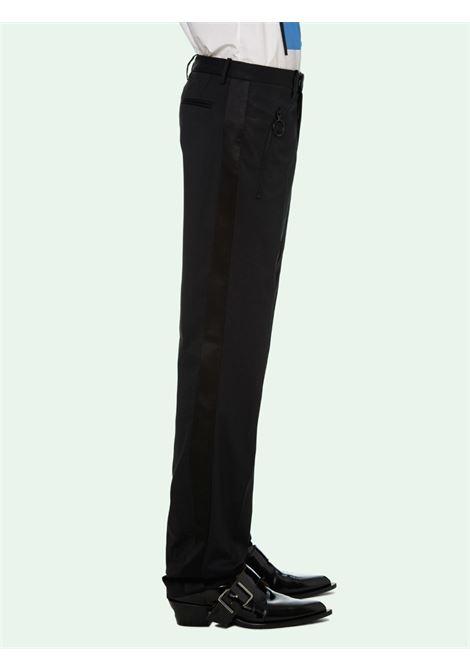Pantalone nero OFF WHITE | PANTALONI | OMCA168R21FAB0011000