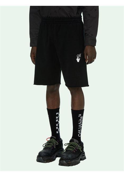 Shorts nero OFF WHITE | SHORTS | OMCI006R21FLE0021032