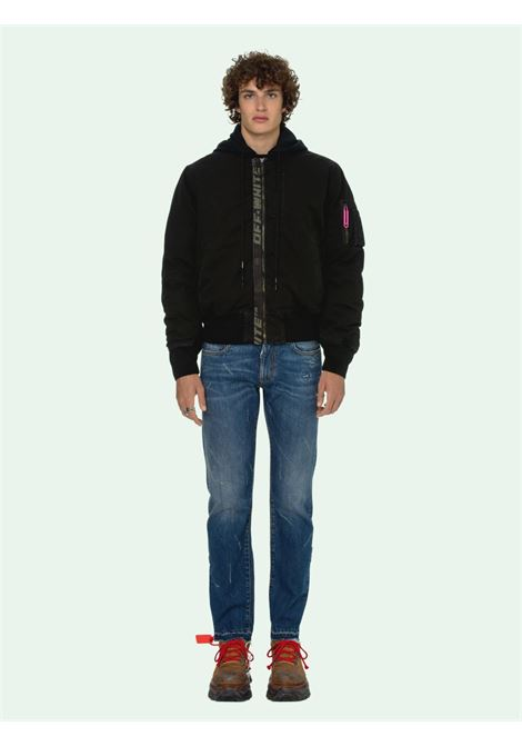 OFF WHITE | BOMBER | OMEH028R21FAB0011001
