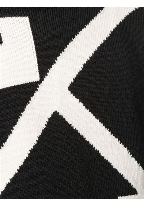 Maglione nero OFF WHITE   MAGLIONE   OMHA036S21KNI0021001