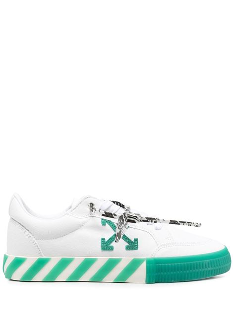 Sneakers bianca/verde OFF WHITE | SNEAKERS | OMIA085R21FAB0010155