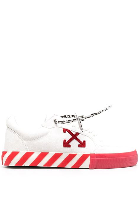 Sneakers bianca/rossa OFF WHITE | SNEAKERS | OMIA085R21LEA0020125