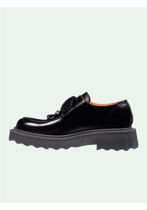 Black shoes OFF WHITE | LACED UP | OMIF002S21LEA0011010