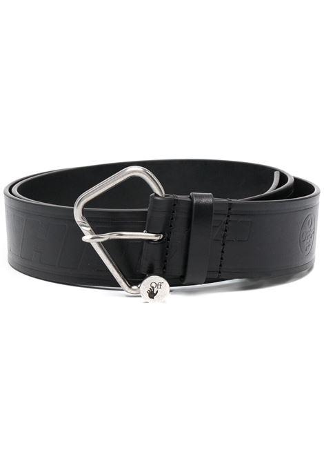 Black belt OFF WHITE | BELTS | OMRB052S21LEA0011000