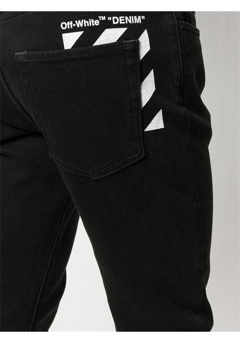 Jeans nero OFF WHITE | JEANS | OMYA074R21DEN0011001