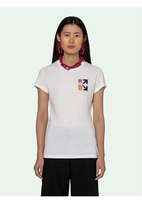 T-shirt bianca OFF WHITE | T-SHIRT | OWAA040R21JER0010184