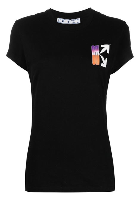 T-shirt nera OFF WHITE | T-SHIRT | OWAA040R21JER0011084