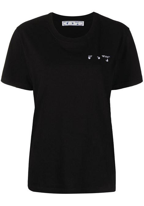 T-shirt nera OFF WHITE | T-SHIRT | OWAA049R21JER0011009
