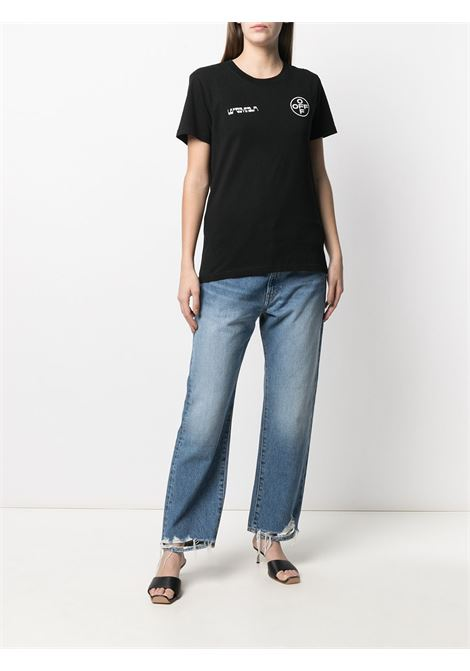 T-shirt nera OFF WHITE | T-SHIRT | OWAA049R21JER0081001