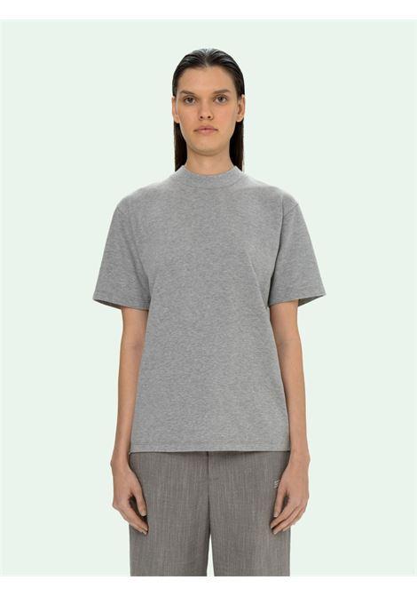 T-shirt grigia OFF WHITE | T-SHIRT | OWAA049S21JER0010808
