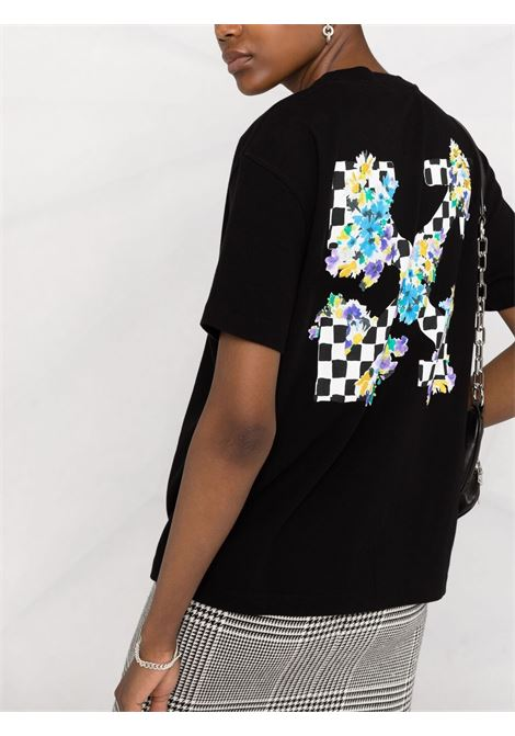 T-shirt nera OFF WHITE | T-SHIRT | OWAA089S21JER0021001