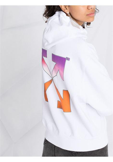 Felpa bianca OFF WHITE | FELPE | OWBB016R21JER0010184