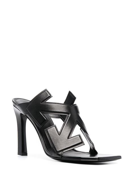 Sandalo nero OFF WHITE | SANDALI | OWIH010S21LEA0011000
