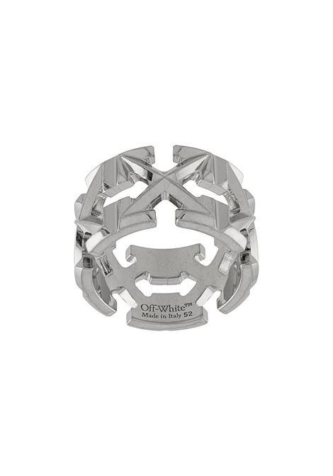 Ring OFF WHITE | RINGS | OWOC007R21MET0017200