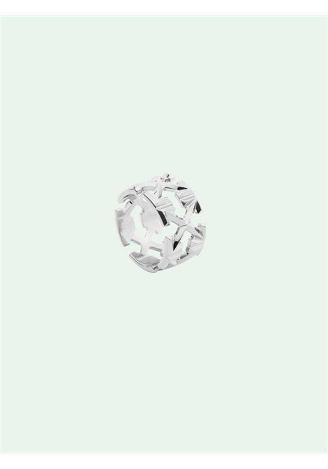 Anello OFF WHITE | OWOC007R21MET0017200