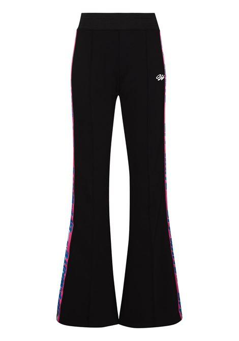 Pantalone nero OFF WHITE | PANTALONI | OWVI007R21FLE0011001