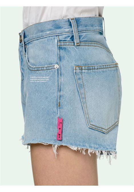 Shorts azzurro OFF WHITE | SHORTS | OWYC002R21DEN0014000