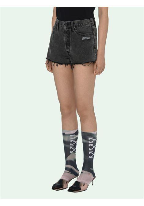 Shorts nero OFF WHITE | SHORTS | OWYC002R21DEN0020700