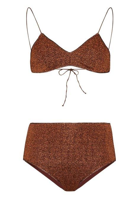 Bikini set OSEREE SWIMWEAR | BEACHWEAR | LMS803LUREXBROWN