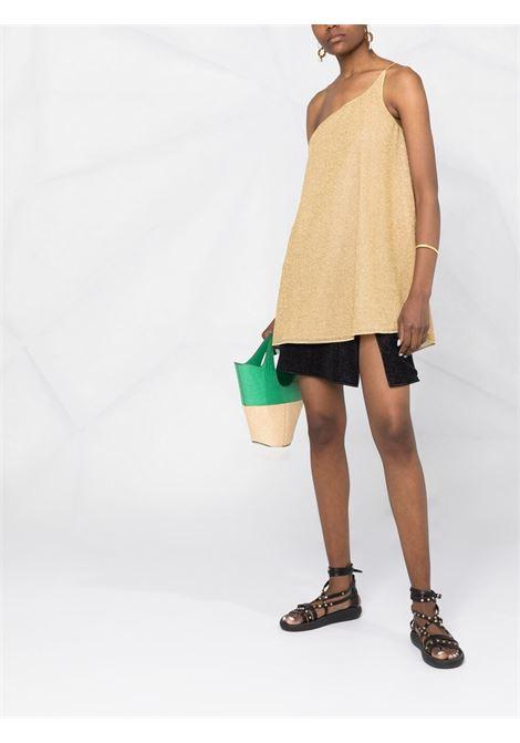 Gold dress OSEREE SWIMWEAR | DRESS | LSS216LUREXGOLD