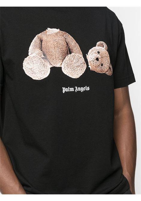 Black t-shirt PALM ANGELS |  | PMAA001R21JER0011060