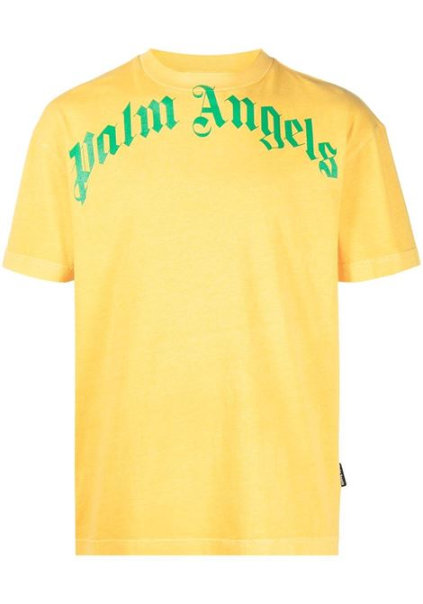 T-shirt gialla PALM ANGELS | T-SHIRT | PMAA001R21JER0081855