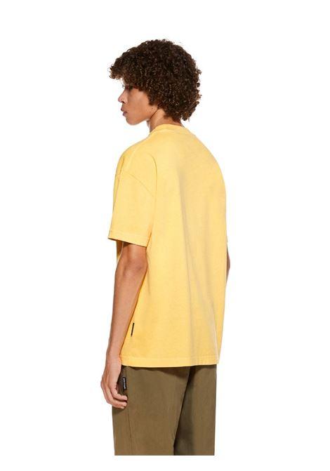 T-shirt gialla PALM ANGELS | T-SHIRT | PMAA001R21JER0081855