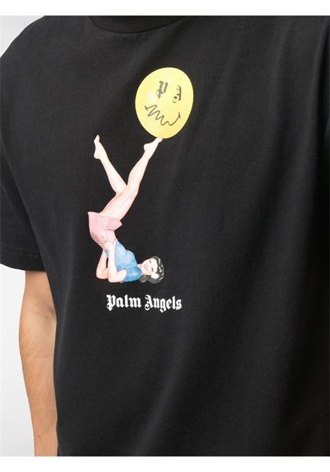 Black t-shirt PALM ANGELS |  | PMAA001R21JER0101030