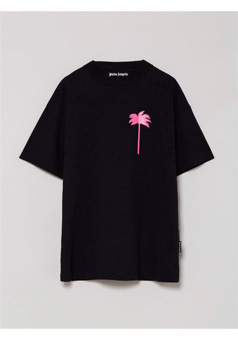 T-shirt nera PALM ANGELS | T-SHIRT | PMAA001S21JER0081032