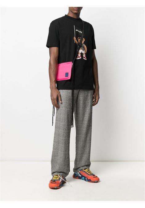 Black t-shirt PALM ANGELS | T-SHIRT | PMAA001S21JER0191001