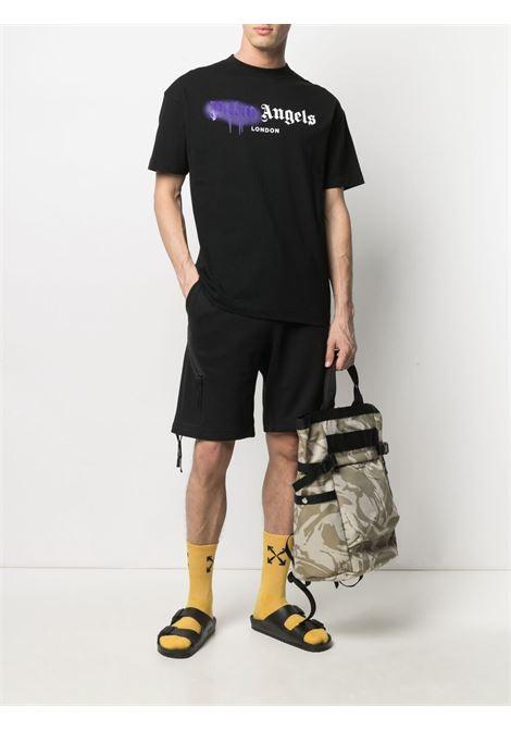 T-shirt nera PALM ANGELS | T-SHIRT | PMAA001S21JER0271037