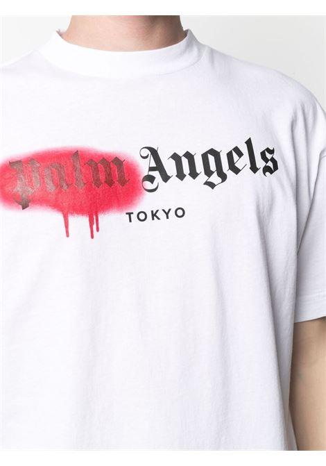 T-shirt bianca PALM ANGELS | T-SHIRT | PMAA001S21JER0280125