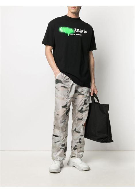 T-shirt nera PALM ANGELS | T-SHIRT | PMAA001S21JER0301070