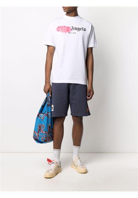 T-shirt bianca PALM ANGELS | T-SHIRT | PMAA001S21JER0310168